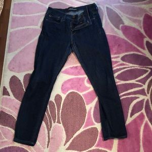 Express mid rise ankle length jean legging